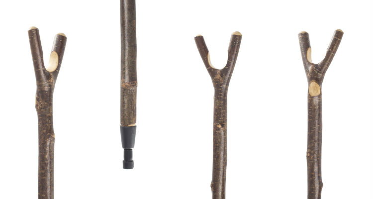 Hazel Thumbstick Country Hiking Stick