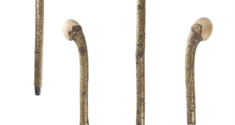 Hazel Coppice Knobstick Country Walking Stick