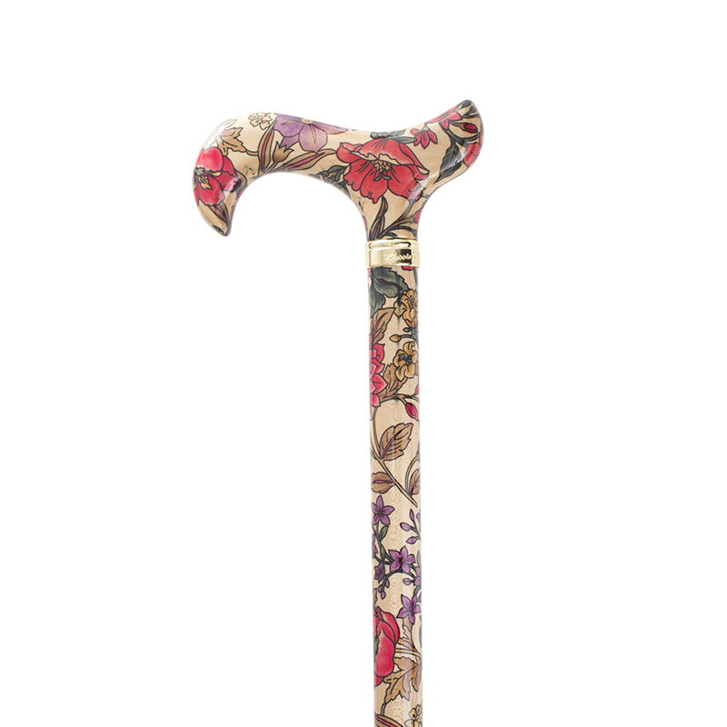 Ladies' Garden Party Floral Derby Cane