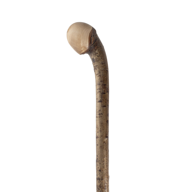 Stout Hazel Knob Handle Walking Stick