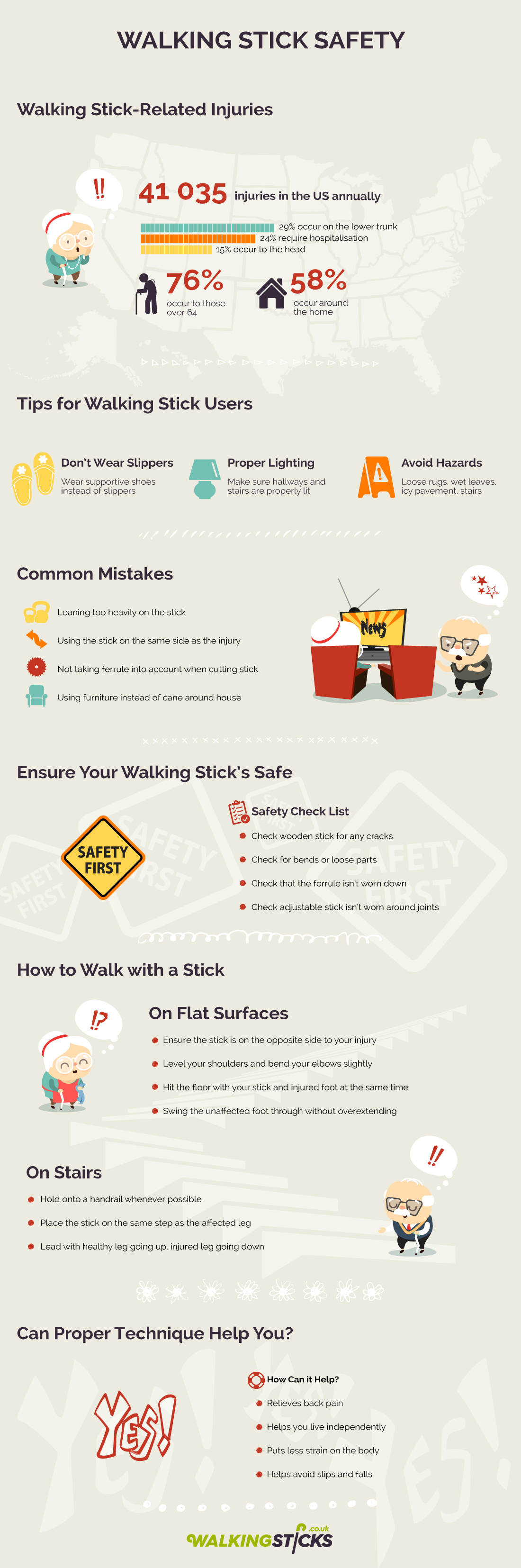 Walking Stick Safety Guide