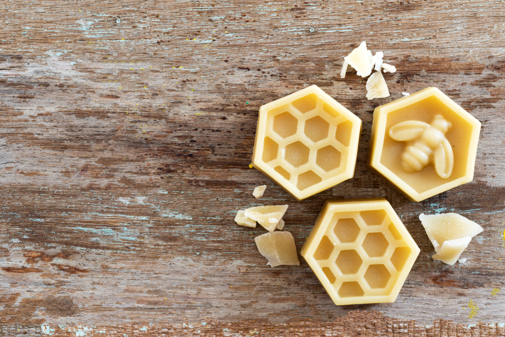 Beeswax can be used to polish your walking stick