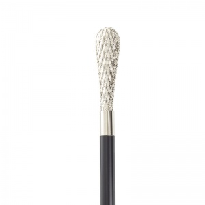 Chrome-Plated Promenade Walking Cane