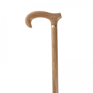 Holm Oak Derby Walking Cane